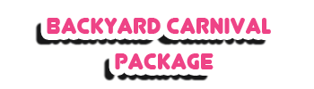 Backyard Carnival Package