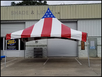 Red, White & Blue 20 x 20 Ft. Tent